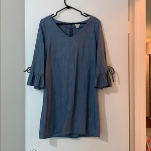 J Crew Factory Chambray Dress